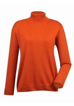 MONA - Strickpullover - orange