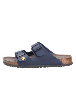 Birkenstock - Pantolette flach - blau (00075)