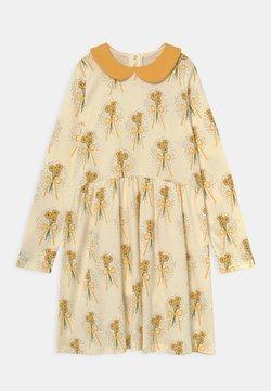 Mini Rodini - WINTERFLOWERS DRESS - Jerseykleid - yellow
