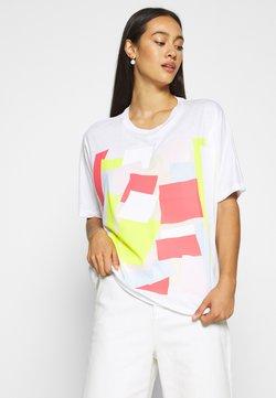 Lacoste - TEE - T-Shirt print - white