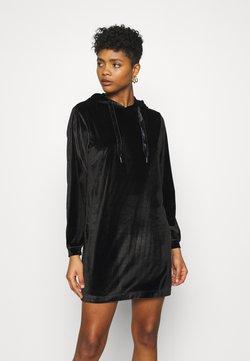 JDY - JDY HOODIE DRESS - Korte jurk - black