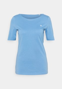 Marc O'Polo - SHORT SLEEVE ROUND NECK - T-Shirt basic - washed cornflower
