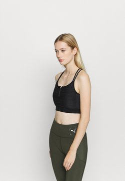ONLY Play - ONPALANI SPORTS BRA - Urheiluliivit - black/white