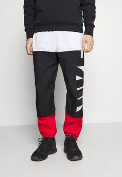 Nike Performance - STARTING PANT - Jogginghose - white/black/university red