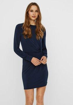 Vero Moda - VMTWISTED KNOT SHORT DRESS - Vestido ligero - navy blazer