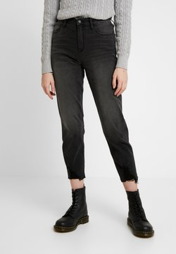 Hollister Co. - WASH UHR MOM - Relaxed fit jeans - washed black