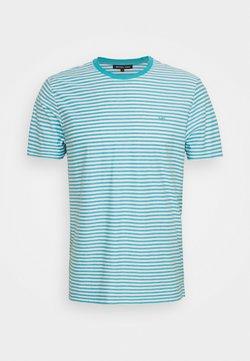 Michael Kors - FEEDER STRIPE TEE - T-Shirt print - blue heath