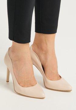 DreiMaster - Sandalen met hoge hak - nude