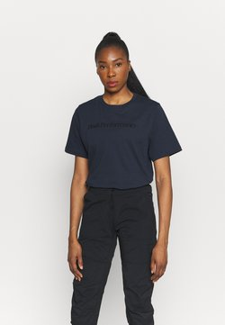 Peak Performance - ORIGINAL SEASONAL TEE - T-shirt med print - blue shadow