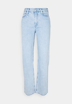 Weekday - TWIN TROUSERS - Jeans straight leg - summer blue
