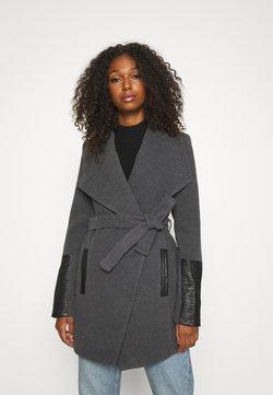 Vero Moda - VMCALA JACKET - Classic coat - dark grey melange
