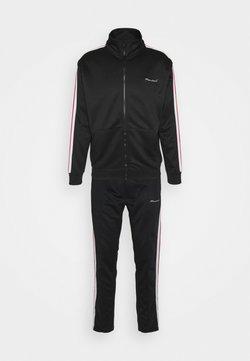 Nominal - BOLT TRACKSUIT - Sweatjacke - black/white