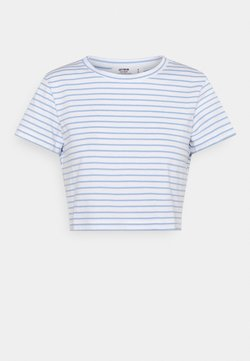 Cotton On - THE BABY TEE - T-Shirt print - white/poolside blue