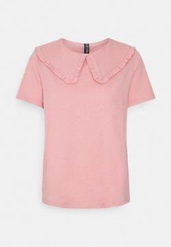 Pieces - PCANIKA TEE - T-shirt con stampa - bridal rose