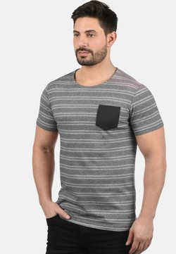 Solid - FIDEL - T-Shirt print - black