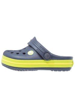 Crocs - CROCBAND - Badesandale - navy/volt green