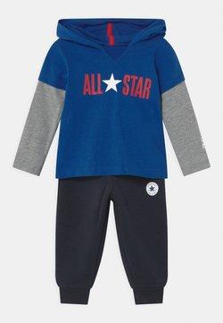 Converse - ALLSTAR HOODIE SET UNISEX - Verryttelypuku - converse blue