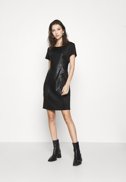 ONLY - ONLELISA MIX DRESS - Robe d'été - black