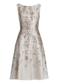 Vera Mont - MIT EFFEKTGARN - Cocktailkleid/festliches Kleid - cream shades
