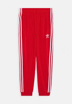 adidas Originals - ADICOLOR PRIMEGREEN PANTS - Pantalon de survêtement - scarle/white