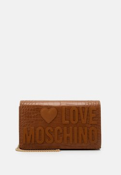 Love Moschino - BORSA - Sac bandoulière - camel