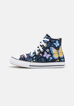 Converse - CHUCK TAYLOR ALL STAR BUTTERFLY FUN - Sneakers high - black/bleached cyan/pink gaze