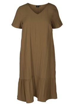 Zizzi - VMACY DRESS - Jerseykleid - kangaroo