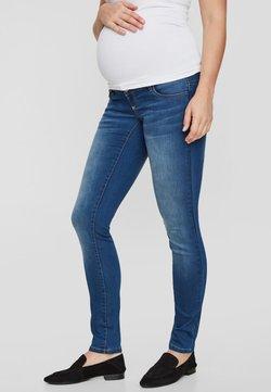 MAMALICIOUS - Slim fit jeans - dark blue