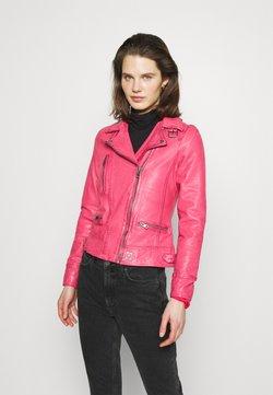 Oakwood - Veste en cuir - pink