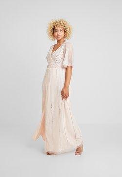 Lace & Beads Curvy - MARTNA - Ballkleid - blush