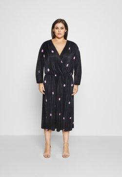 ONLY Carmakoma - CARLENA BALOON DRESS - Day dress - black