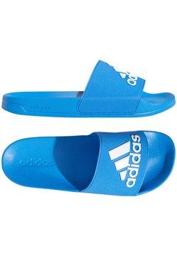adidas Performance - Badesandale - blauweiss