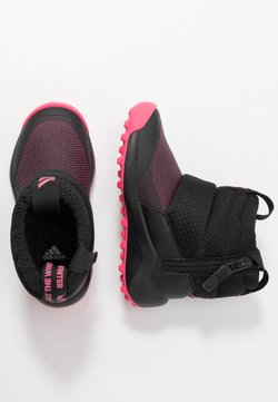 adidas Performance - RAPIDASNOW - Snowboot/Winterstiefel - core black/real pink/footwear white