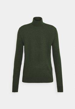 Samsøe Samsøe - FLEMMING TURTLE NECK - Jersey de punto - kambu green