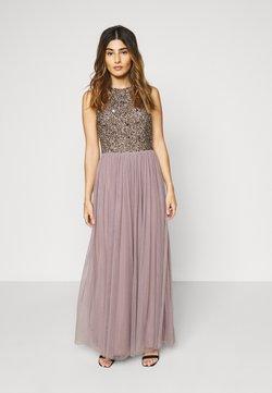 Lace & Beads Petite - PICASSO - Vestido de fiesta - heather