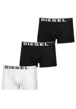 Diesel - 3 PACK - Panties - black-black-white