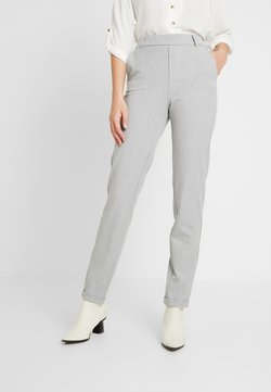 Vero Moda Tall - VMMAYA LOOSE SOLID PANT - Trousers - light grey