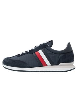 Tommy Hilfiger - MIX RUNNER STRIPES - Sneaker low - blue