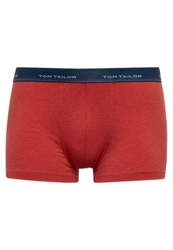 TOM TAILOR - Shorty - red-medium-melange