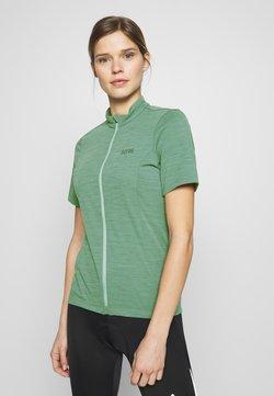 Gore Wear - DAMEN TRIKOT - T-Shirt print - nordic blue