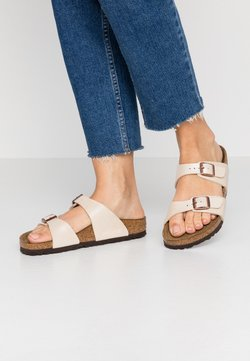 Birkenstock - SYDNEY - Chaussons - graceful pearl white