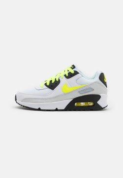 Nike Sportswear - AIR MAX 90 LTR UNISEX - Matalavartiset tennarit - white/volt/black/pure platinum