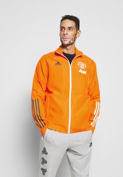 adidas Performance - MANCHESTER UNITED FOOTBALL TRACKSUIT JACKET - Klubtrøjer - bahora