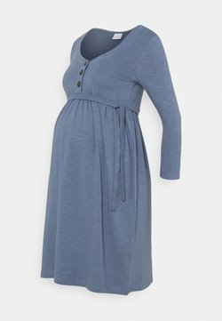 MAMALICIOUS - MLREYSA LIA DRESS - Jerseykleid - china blue