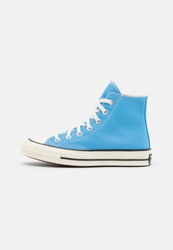 Converse - CHUCK 70 RECYCLED UNISEX - Sneakers high - university blue/egret/black