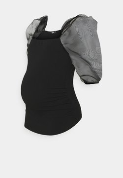 Missguided Maternity - Camiseta básica - black