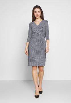 Lauren Ralph Lauren - PRINTED MATTE DRESS - Kjole - lighthouse navy