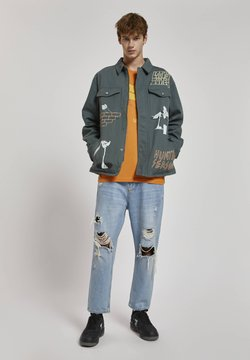 PULL&BEAR - Giacca di jeans - green