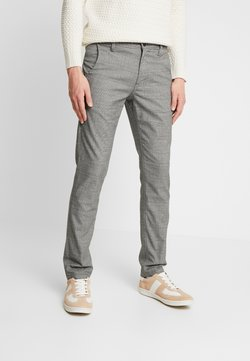 Selected Homme - SLHSLIM STORM FLEX SMART PANTS - Stoffhose - grey