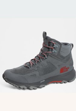 The North Face - W ULTRA FASTPACK IV MID FUTURELIGHT - Hikingschuh - high rise grey/horizonred